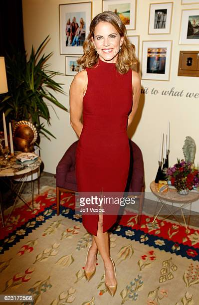 Host Natalie Morales attends Glamour Women Of The Year 2016 LIVE Summit at NeueHouse Hollywood on November 14 2016 in Los Angeles California
