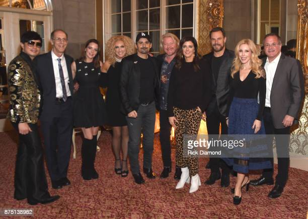 Host Newman Arndt Executive Director of Music Memory Dan Cohen Kimberly WilliamsPaisley Kimberly Schlapman of Little Big Town Brad Paisley Philip...