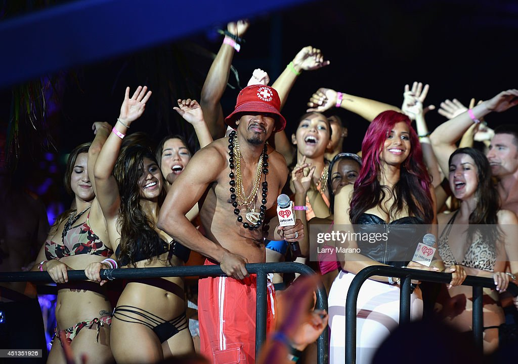 iHeartRadio Ultimate Pool Party Presented By VISIT FLORIDA At Fontainebleau's BleauLive - Onstage - Day 1 : News Photo