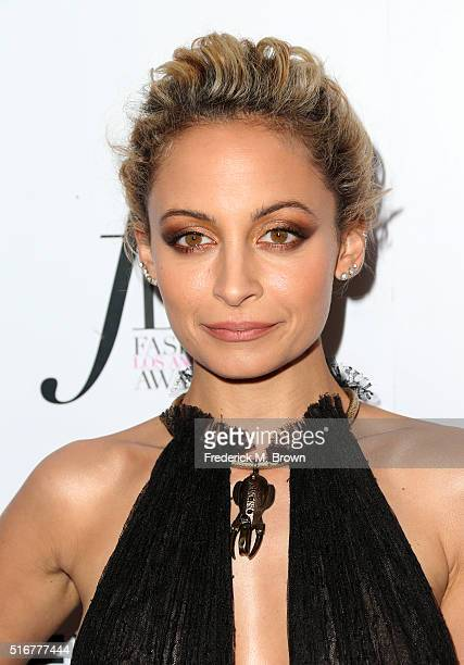 Host Nicole Richie attends the Daily Front Row 'Fashion Los Angeles Awards' at Sunset Tower Hotel on March 20 2016 in West Hollywood California