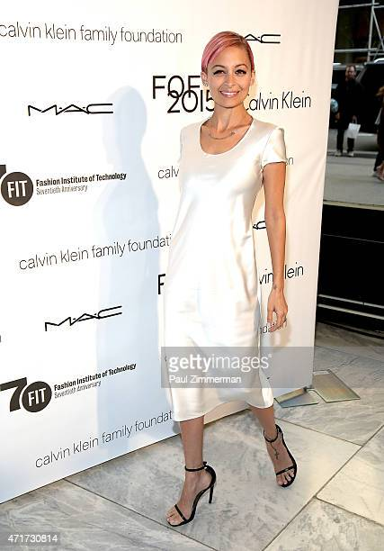 Host Nicole Richie attends The Fashion Institute of Technology's 2015 Future Of Fashion Runway Show on April 30 2015 in New York City