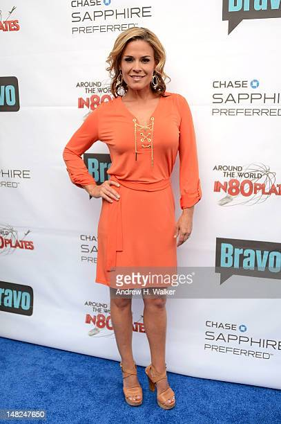 Host of Around the World in 80 Plates Cat Cora attends Bravo's Around The World In 80 Plates Finale Celebration at Metropolitan Pavilion on July 12...