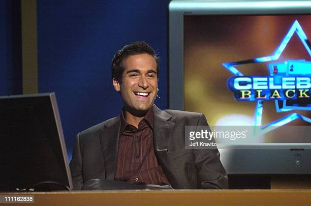 Host of Celebrity Blackjack Matt Vasgersian during Celebrity Blackjack Matt Vasgersian hosts Celebrity Blackjack a one hour weekly tournament...