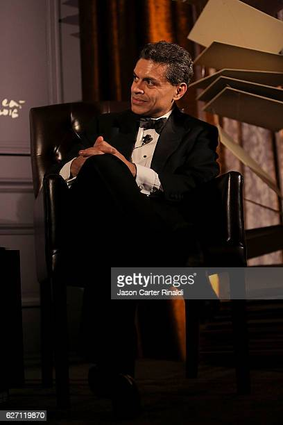 Host of CNN Global Public Square Fareed Zakaria attends The Berggruen Prize Gala Honoring Philosopher Charles Taylor at New York Public Library Astor...