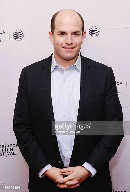 """Host of CNN's """"Reliable Sources"""" Brian Stelter attends the world premiere of HBO's """"Thought Crimes"""" as part of The Tribeca Film Festival at SVA..."""