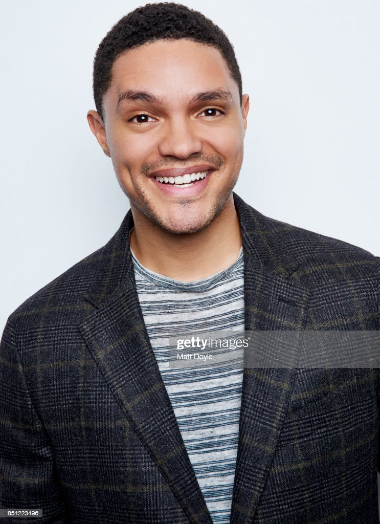 Host of Comedy Central's 'The Daily Show' Trevor Noah poses for a portraits at the Tribeca TV festival at Cinepolis Chelsea on September 24, 2017.