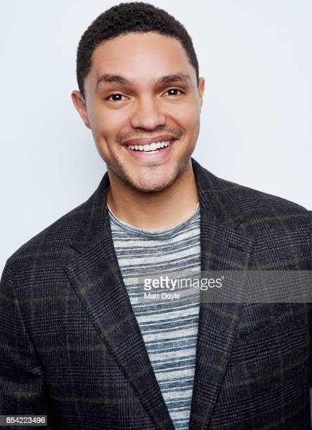 Host of Comedy Central's 'The Daily Show' Trevor Noah poses for a portraits at the Tribeca TV festival at Cinepolis Chelsea on September 24 2017