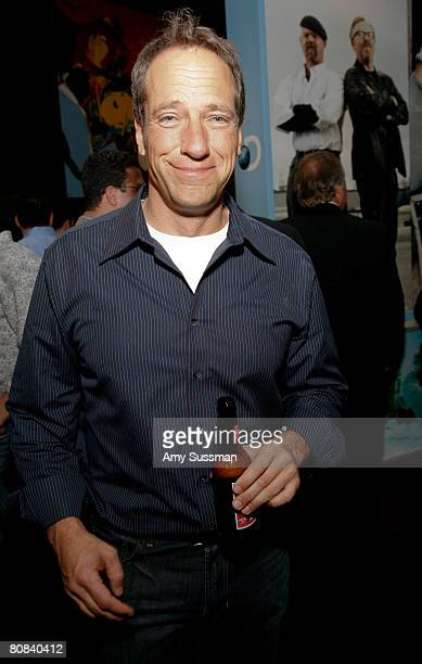 Host of 'Dirty Jobs' Mike Rowe attends the Discovery Upfront event at Jazz at Lincoln Center on April 23 2008 in New York City