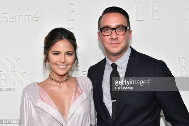 Host of E's The Rundown Erin Lim and President of E Entertainment Adam Stotsky attend the NYFW Kickoff Party A Celebration Of Personal Style hosted...