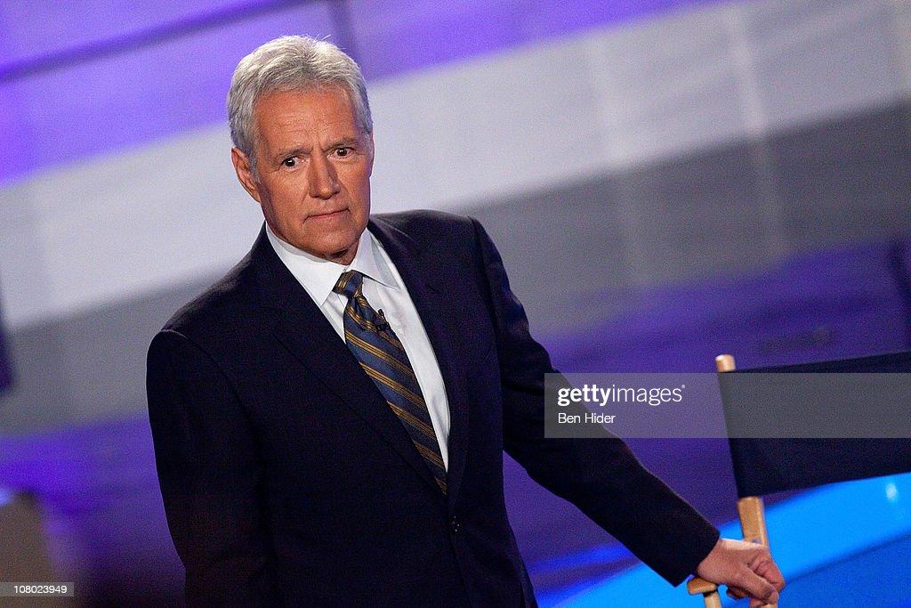 """Jeopardy!"" & IBM Man V. Machine Press Conference : News Photo"