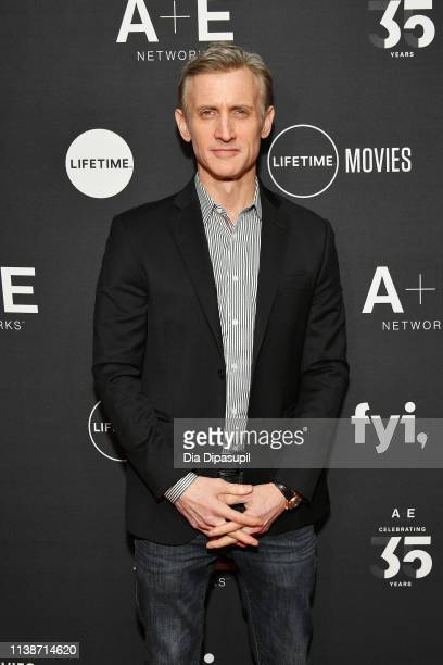 Host of Live PD Dan Abrams attends the 2019 AE Networks Upfront at Jazz at Lincoln Center on March 27 2019 in New York City