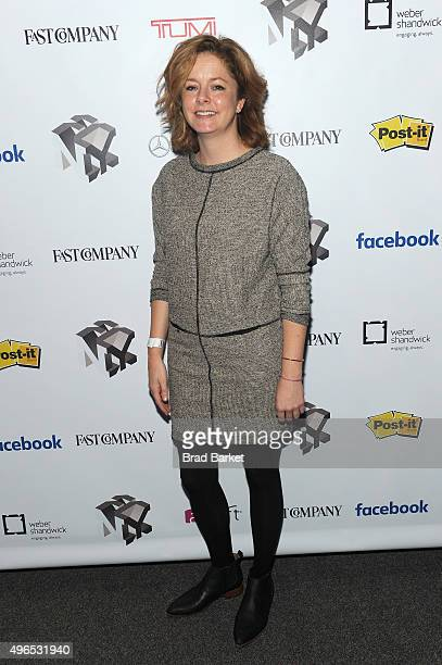 Host of Marketplace Weekend Lizzie O'Leary attends 'The Fast Company Innovation Festival' Data Drugs The New Evolution Of Drug Making With 23andMe...