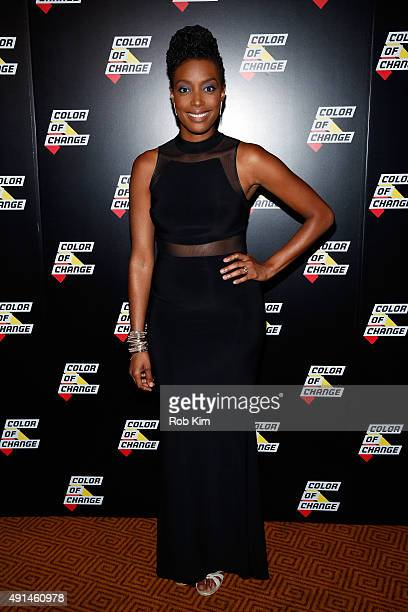 Host of MTV Decoded Franchesca Ramsey attends ColorofChange.org 10 Year Anniversary Gala at Gotham Hall on October 5, 2015 in New York City.