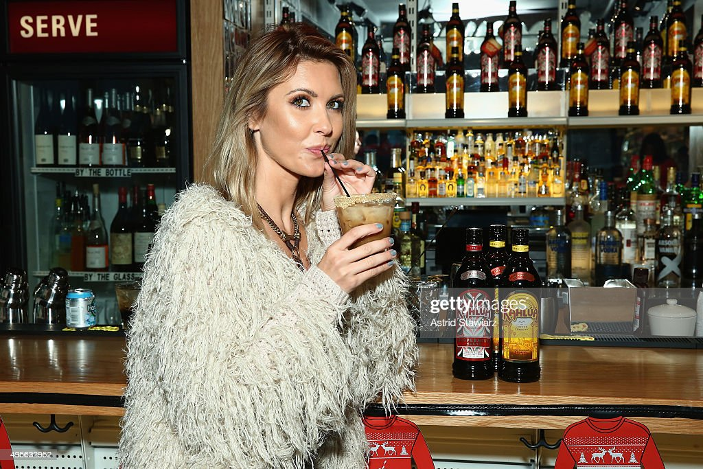 Audrina Patridge Mixes It Up With Kahlua