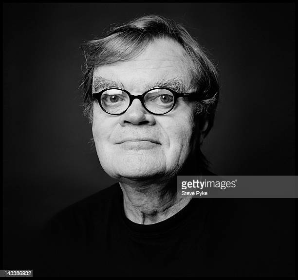 Host of Prairie Home Companion Garrison Keillor poses for Men's Health Magazine on July 6 2010 in New York City