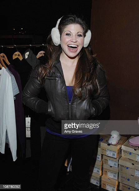 Host of Style Network's The Dish Danielle Fishel at THINK PR's 3rd Annual PreSundance Lounge Day 2 at the Muse Life Style Group Lounge on January 9...
