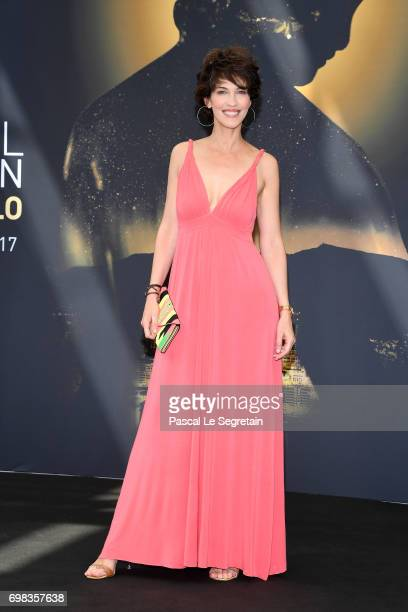 Host of the Festival Linda Hardy attends a photocall during the 57th Monte Carlo TV Festival Day 5 on June 20 2017 in MonteCarlo Monaco