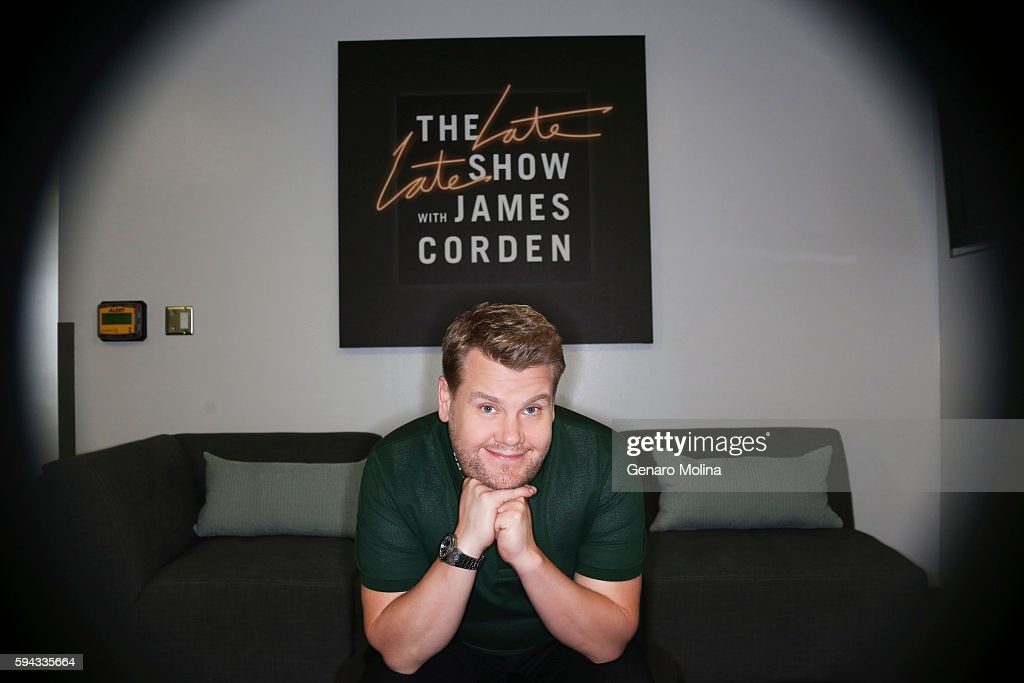 James Corden, Los Angeles Times, August 14, 2016