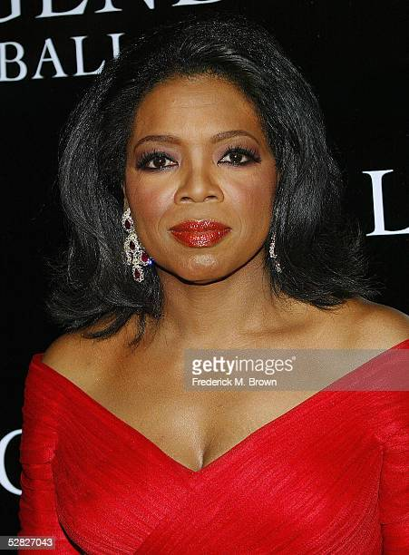 Host Oprah Winfrey attends the Legends Ball at the Bacara Resort and Spa on May 14 2005 in Santa Barbara California