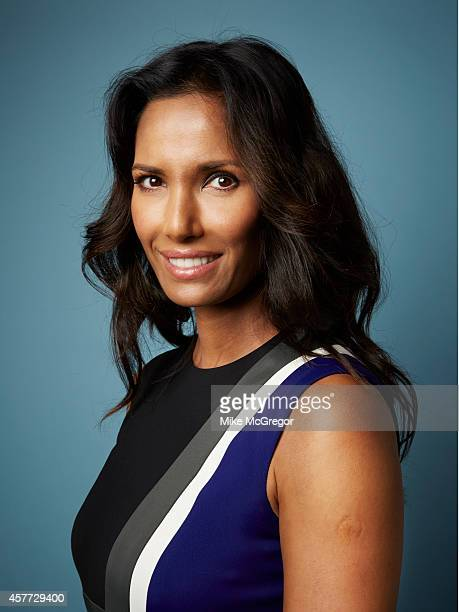 TV host Padma Lakshmi is photographed for Self Assignment on September 11 2014 in New York City