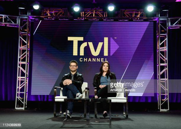 Host Paranormal Investigator and Executive Producer Jack Osbourne and Host and Paranormal Investigator Katrina Weidman of 'Portals To Hell' speak...