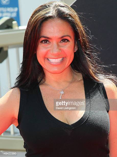 TV host Penelope Menchaca attends the world premiere of Universal Studios Hollywood's Transformers The Ride3D at Universal Studios Hollywood on May...