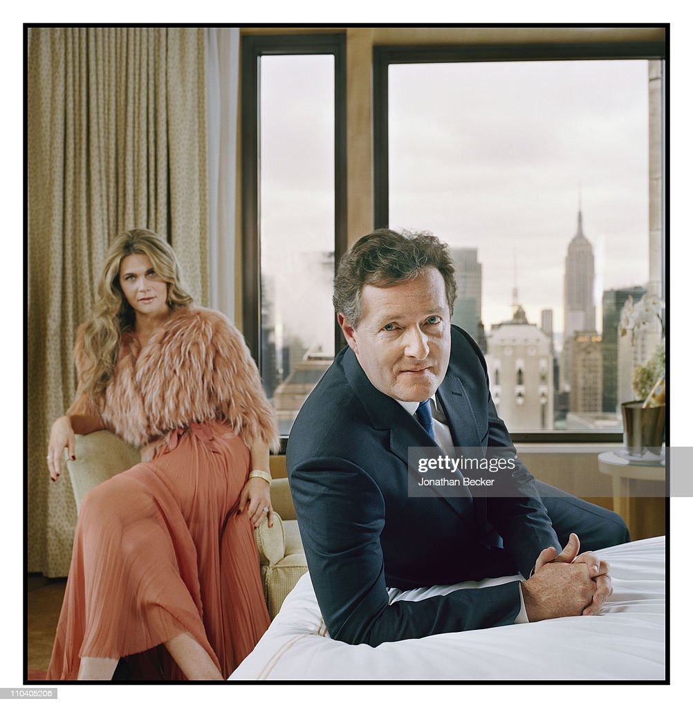 Piers Morgan and Celia Walden, Tatler Magazine, March 1, 2011