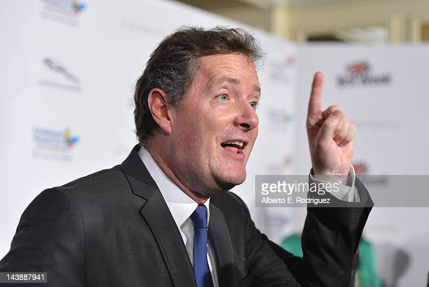 "Host Piers Morgan arrives to BritWeek 2012's ""Evening with Piers Morgan"" on May 4, 2012 in Beverly Hills, California."