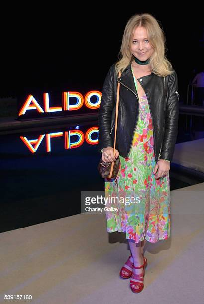 Host Poppy Jamie attends ALDO's Hot LA Night at a private residence on June 9 2016 in Beverly Hills California
