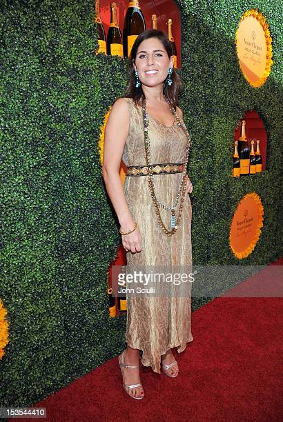 Host President Veuve Clicquot USA Vanessa Kay arrives at the Third Annual Veuve Clicquot Polo Classic at Will Rogers State Historic Park on October 6...