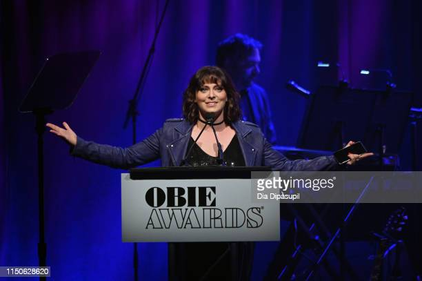 Host Rachel Bloom attends the 64th Annual Obie Awards on May 20, 2019 in New York City.