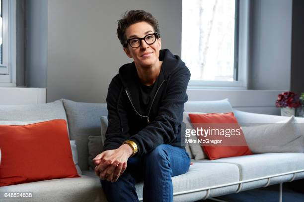 TV host Rachel Maddow is photographed for Variety on January 6 2017 in New York City
