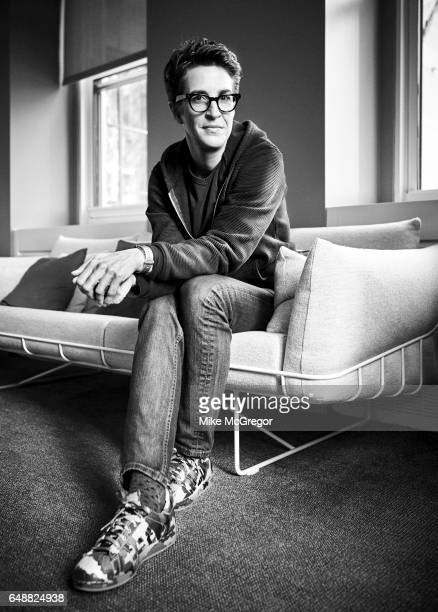 TV host Rachel Maddow is photographed for Variety on January 6 2017 in New York City PUBLISHED IMAGE
