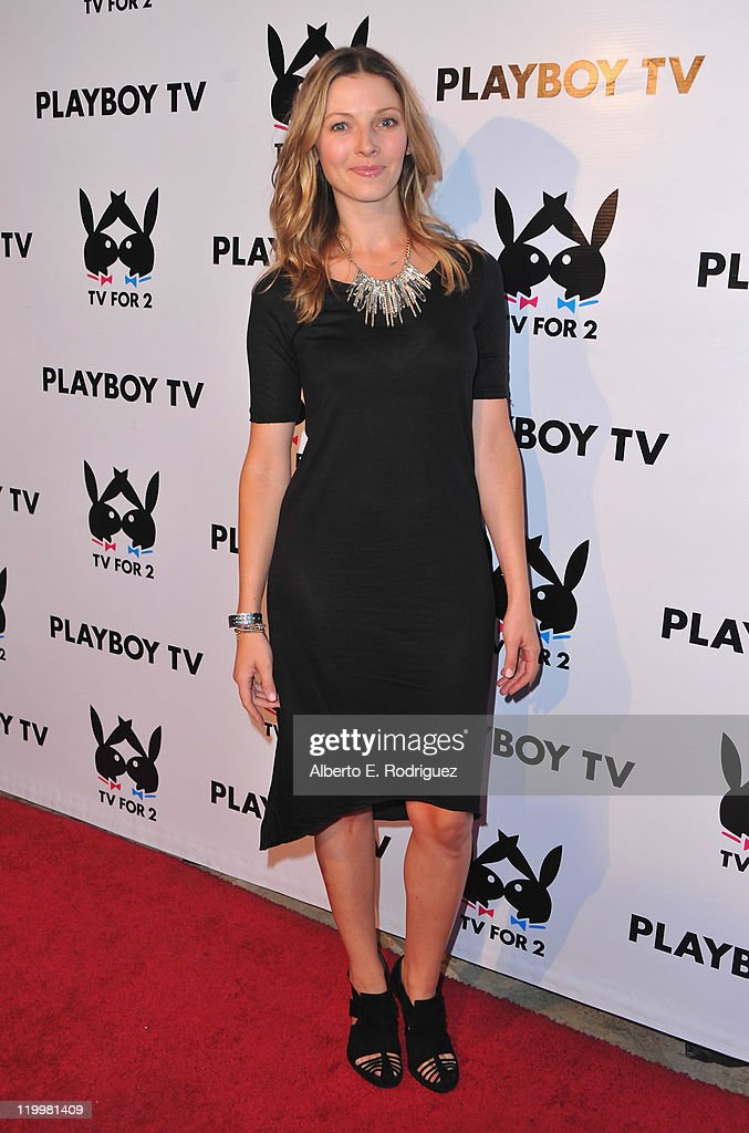 TV host Rachel Perry arrives to Playboy TV's 'TV for 2' 2011 TCA event on July 27, 2011 in Los Angeles, California.