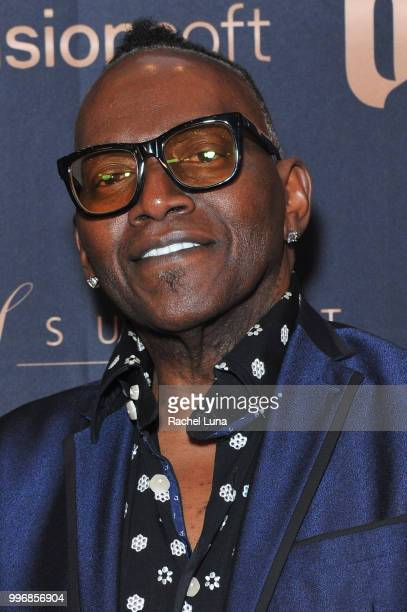 Host Randy Jackson attends City Summit Wealth Mastery And Mindset Edition afterparty at Allure Banquet Catering on July 11 2018 in Van Nuys California