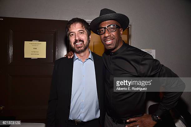 Host Ray Romano and comedian JB Smoove attends the International Myeloma Foundation 10th Annual Comedy Celebration at the Wilshire Ebell Theatre on...