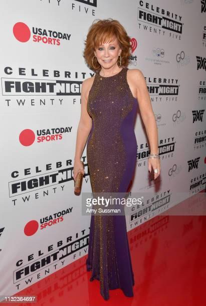 Host Reba McEntire attends Celebrity Fight Night XXV on March 22 2019 in Phoenix Arizona