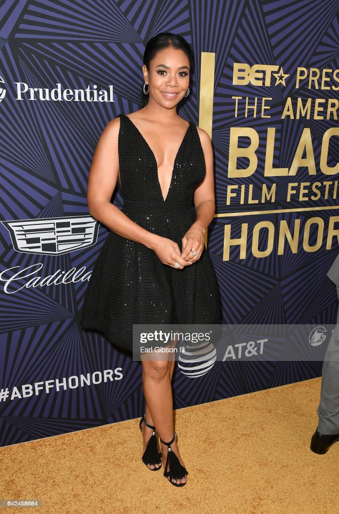 Host Regina Hall attends BET Presents the American Black Film Festival Honors on February 17, 2017 in Beverly Hills, California.