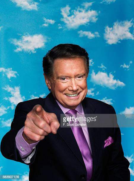 TV host Regis Philbin is photographed on November 6 2006 in New York City