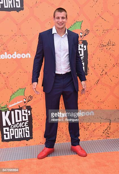 Host Rob Gronkowski attends the Nickelodeon Kids' Choice Sports Awards 2016 at UCLA's Pauley Pavilion on July 14 2016 in Westwood California