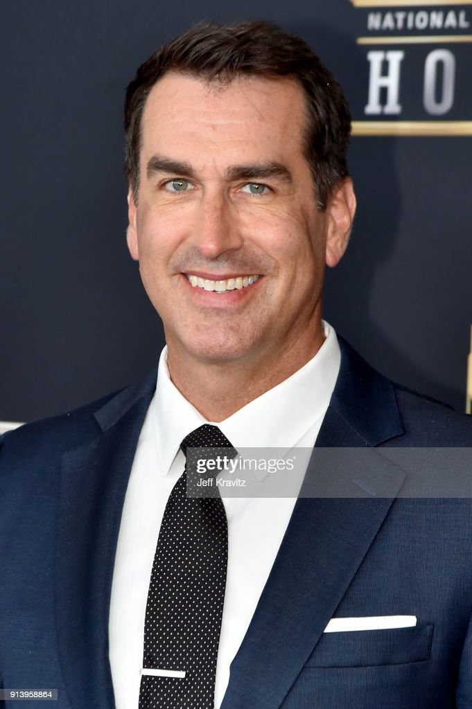 Host Rob Riggle attends the NFL Honors at University of Minnesota on February 3, 2018 in Minneapolis, Minnesota.