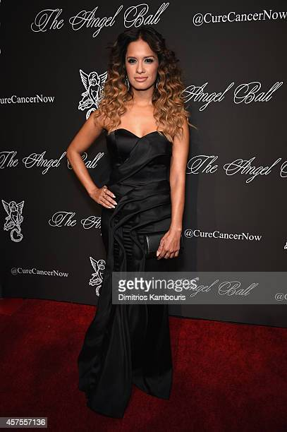 Host Rocsi Diaz attends Angel Ball 2014 hosted by Gabrielle's Angel Foundation at Cipriani Wall Street on October 20 2014 in New York City