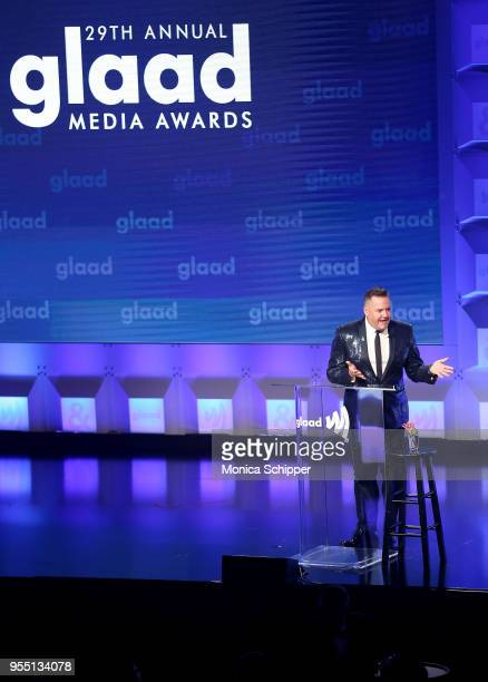 Host Ross Mathews opens the 29th Annual GLAAD Media Awards in partnership with longstanding LGBTQ ally KetelOne FamilyMade Vodka on May 5 2018