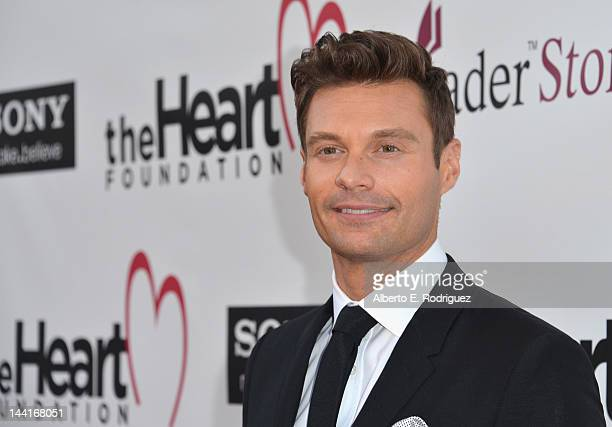 Host Ryan Seacrest arrives to The Heart Foundation Gala at Hollywood Palladium on May 10, 2012 in Hollywood, California.