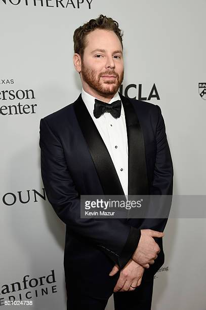 Host Sean Parker attends the launch of the Parker Institute for Cancer Immunotherapy an unprecedented collaboration between the country's leading...