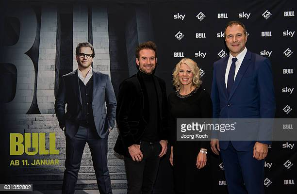 Host Sebastian Hoeffner Director Programming and Acquisitions NBC Universal Global Networks Germany Karin Schrader and German judge and TV actor...