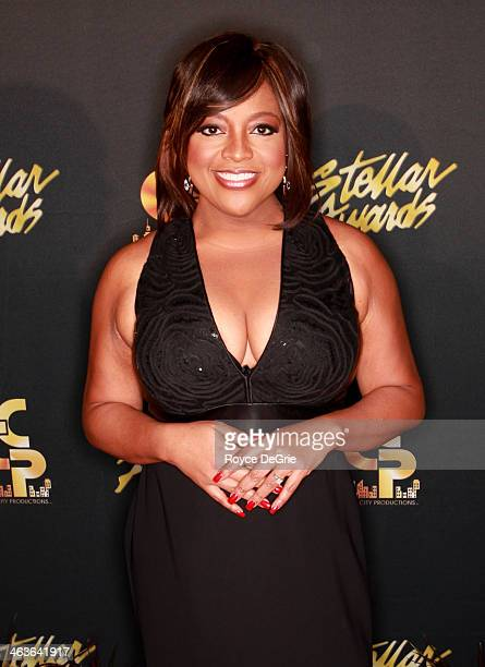 Host Sherri Shepherd arrives at the 2014 Stellar Awards at Nashville Municipal Auditorium on January 18 2014 in Nashville Tennessee