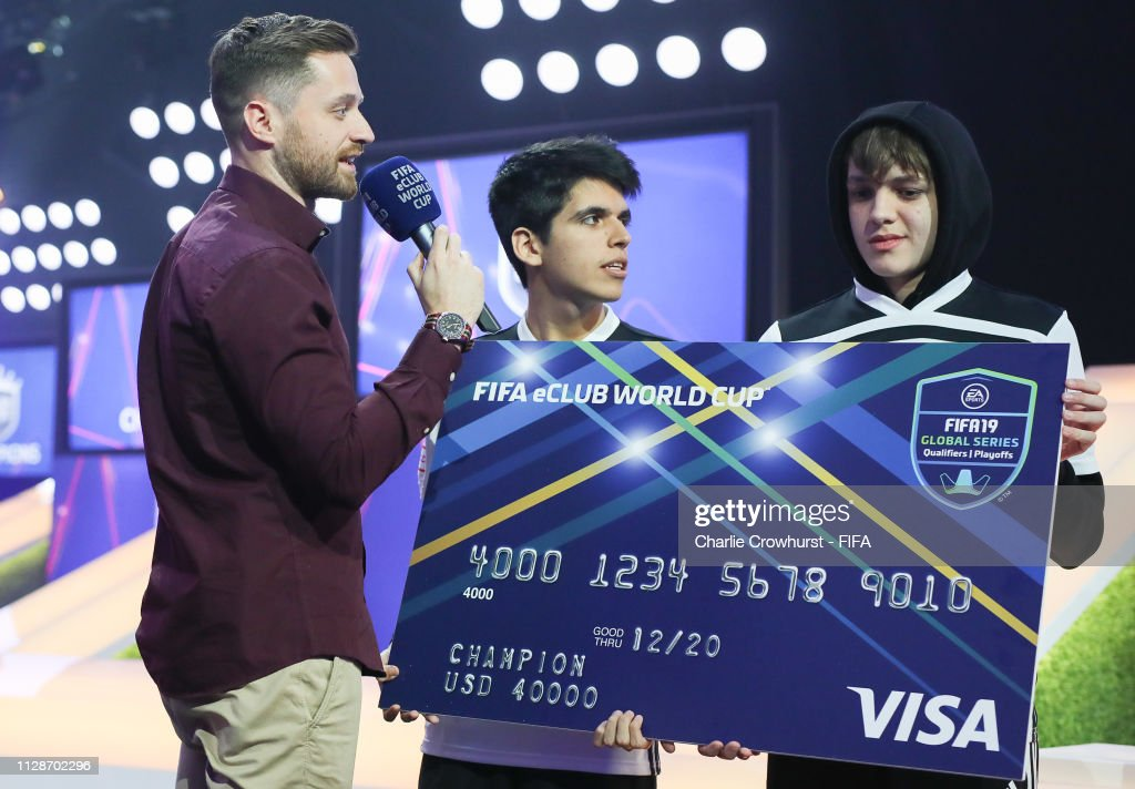 FIFA eClub World Cup 2019 - Knockout Stage & Final : News Photo