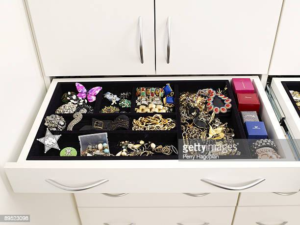 Host Stacy London of What Not To Wear jewelry box is photographed for OK Magazine on June 22 2009 in her apartment in New York City