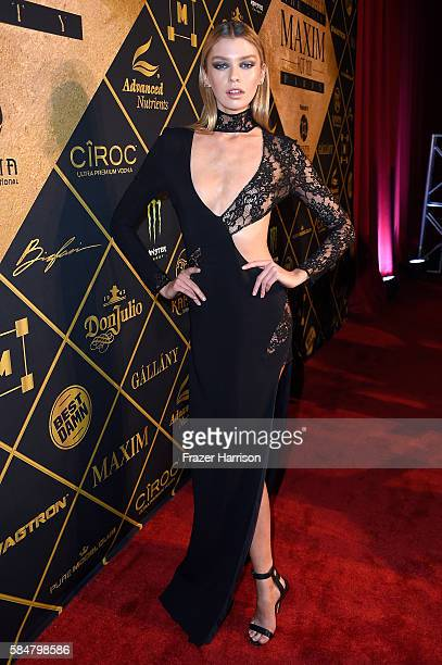 Host Stella Maxwell attends the 2016 MAXIM Hot 100 Party at the Hollywood Palladium on July 30 2016 in Los Angeles California